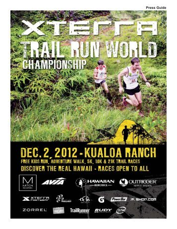 XTR Worlds Guide 2012:XTERRA USA PRESS GUIDE.qxd.qxd