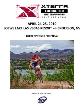 april 24-25, 2010 loews lake las vegas resort – henderson ... - Xterra