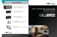 HDMI & CoMponent VIDeo/AuDIo MAtrIx routers ... - CE Pro