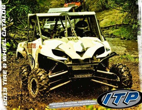 REAR SET ATV HOLESHOT HD  20X11-9 20 11 9 TIRES 532012 ITP