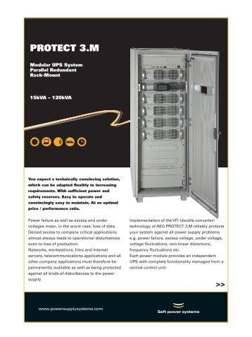 Protect 3.M (AEG Online modular UPS 15 - 120 kVA)