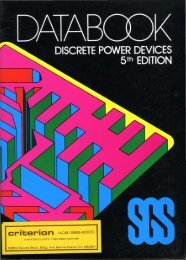 SGS Discrete Power Devices 5ed 1982 - Trailing-Edge
