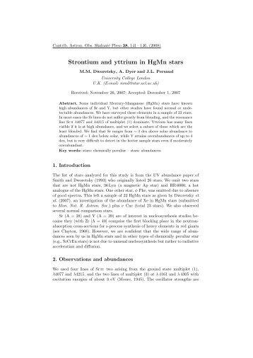 Strontium and yttrium in HgMn stars