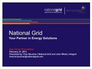 Data Center webinar (pdf) - National Grid