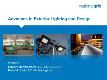 Advances in Exterior Lighting and Design (pdf) - National Grid