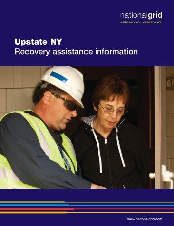 Upstate NY Recovery assistance information - National Grid