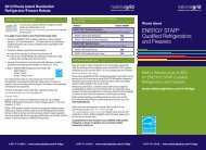 ENERGY STAR® Qualified Refrigerators and Freezers - National Grid