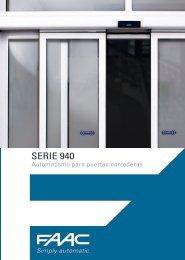 SeRIe 940 - Faac