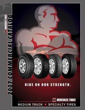 Hercules Medium Truck Tire Product Guide