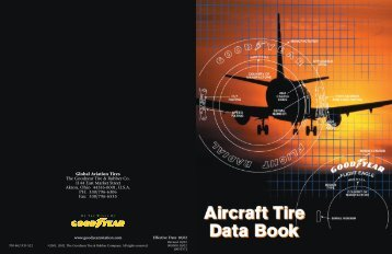 Goodyear Aircraft Tire Data Books - Goodyear Aviation