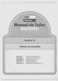 Sistema de Encendido - Ford Sierra Net