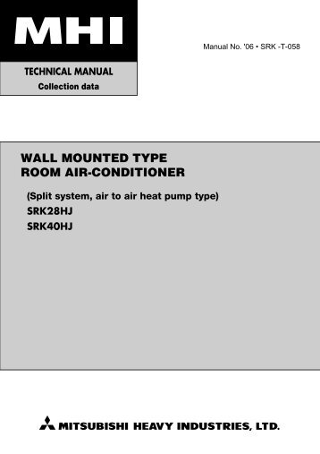Split Type Room air conditioner installation manual Tcl