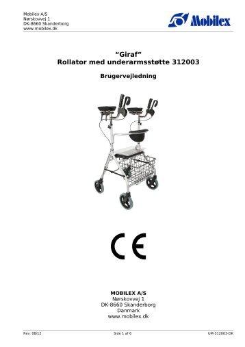 GIRAFFE rollator - mobilex-care.com