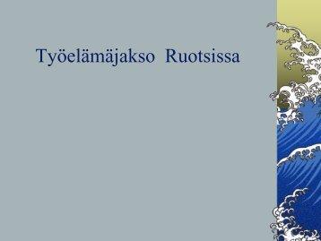 Työelämäjakso - Stall Timo Nurmos