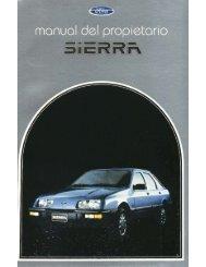 Instrumentos y Controles de su Vehículo - Ford Sierra Net
