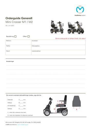 MC_SE_Orderguide_M1/M2 - Minicrosser