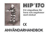 Hip 170 Bruksanvisning - Minicrosser