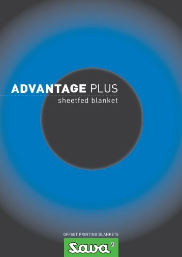 sheetfed blanket - SAVA Trade