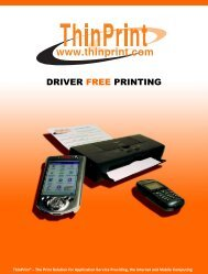ThinPrint Brochure - VirtualizationAdmin.com