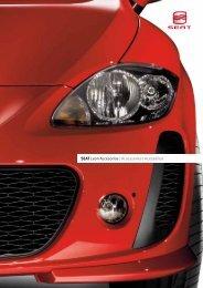 SEAT Leon Accesorios | Accessories | Acessórios - SEAT.es