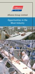 Opportunities in the Meat Industry s - Career opportunities at ...