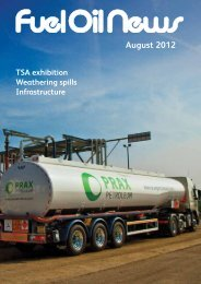 August 2012 - Fuel Oil News