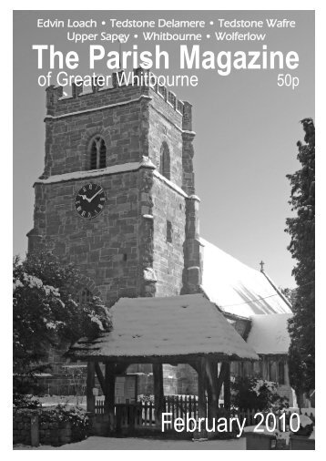 Click - Parish of Greater Whitbourne