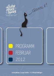 PROGRAMM FEBRUAR 2012 - Lichtspielhaus Riedlingen