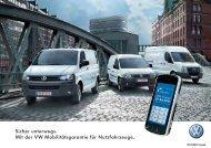Download pdf - bei Volkswagen Nutzfahrzeuge. - VW Nutzfahrzeuge
