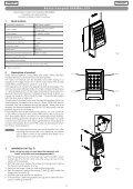 Tastiera radio 868MHz SLH - Faac - Page 3