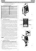 Tastiera radio 868MHz SLH - Faac - Page 5