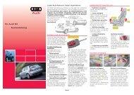 Ihr Audi S3 Kurzanleitung