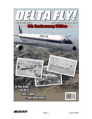 Page 1 March 2009 - Delta Virtual Airlines