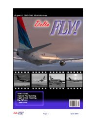 April 2006 - Delta Virtual Airlines
