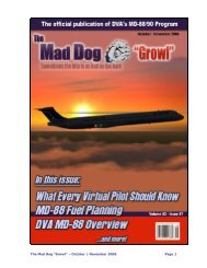MD-88 Newsletter Vol. 12 - Delta Virtual Airlines