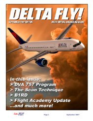Page 1 September 2007 - Delta Virtual Airlines
