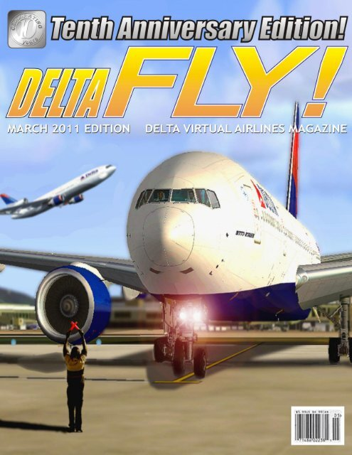 March 2011 10th Anniversary Edition - Delta Virtual Airlines
