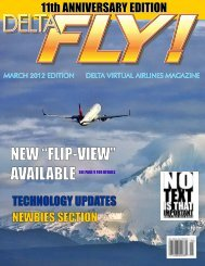 March 2012 11th Anniversary Edition - Delta Virtual Airlines