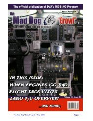 "The Mad Dog ""Growl"" –April / May 2006 Page 1 - Delta Virtual Airlines"