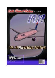 March 2006 5th Anniversary Edition - Delta Virtual Airlines