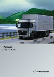 Atego 2425/48 6x2 - Mercedes Benz