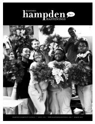 March 2013 (pdf) - Hampden Community Council