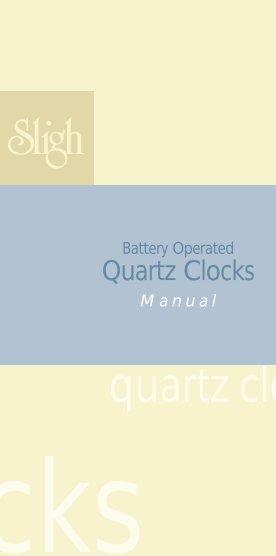 Wall clock models batteries the clock depot battery operated quartz clocks 1 champs clock shop publicscrutiny Gallery