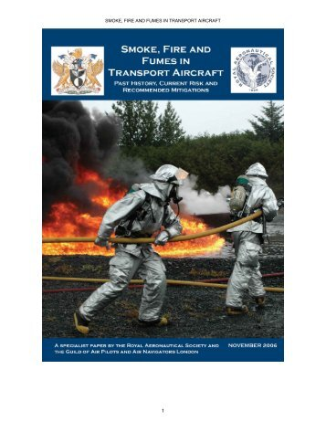 smoke, fire and fumes in transport aircraft - Safety Operating Systems