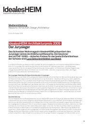 Idealesheim Architekturpreis 2009 Der Jurysieger