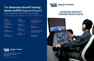 2012 AATD Brochure - ETC Aircrew Training Systems