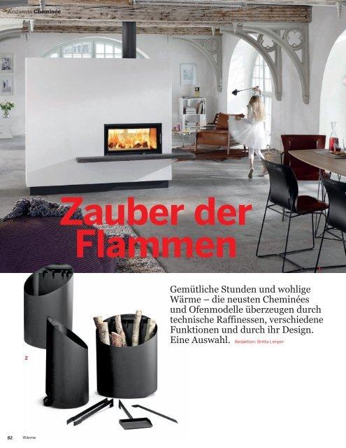 Gemütliche Stunden und wohlige Wärme - Archithema Verlag AG