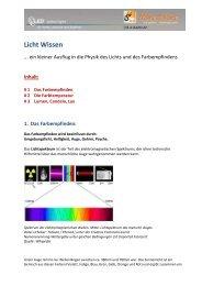 Licht Wissen - led-4-home