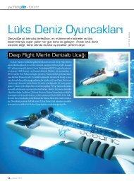 Lüks Deniz Oyuncakları - Scubacraft