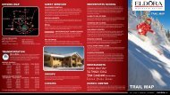 Download a PDF of the Trail Map - Eldora Mountain Resort